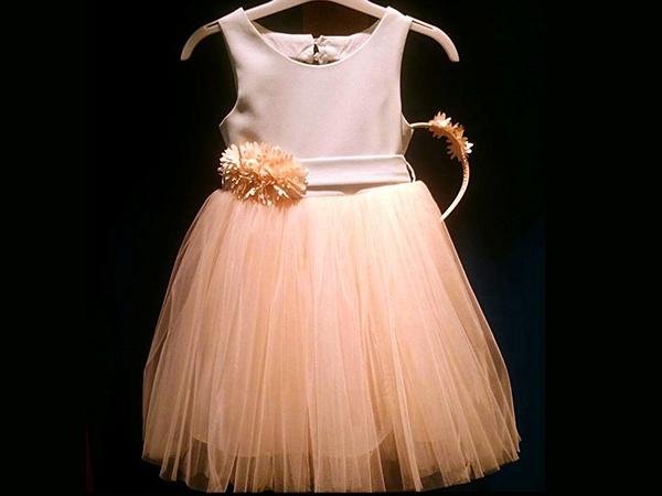 لباس جشن تولد کودک دخترونه Merci mama