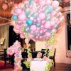 بادکنک آرایی جشن تولد یکسالگی به شکل بالن