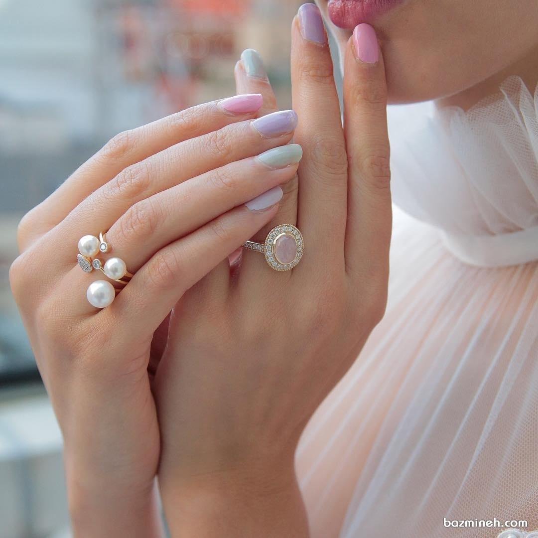 انگشتر شیک مناسب برای حلقه نامزدی