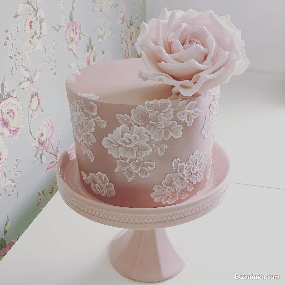 کیک زیبا و شیک مناسب برای جشن نامزدی
