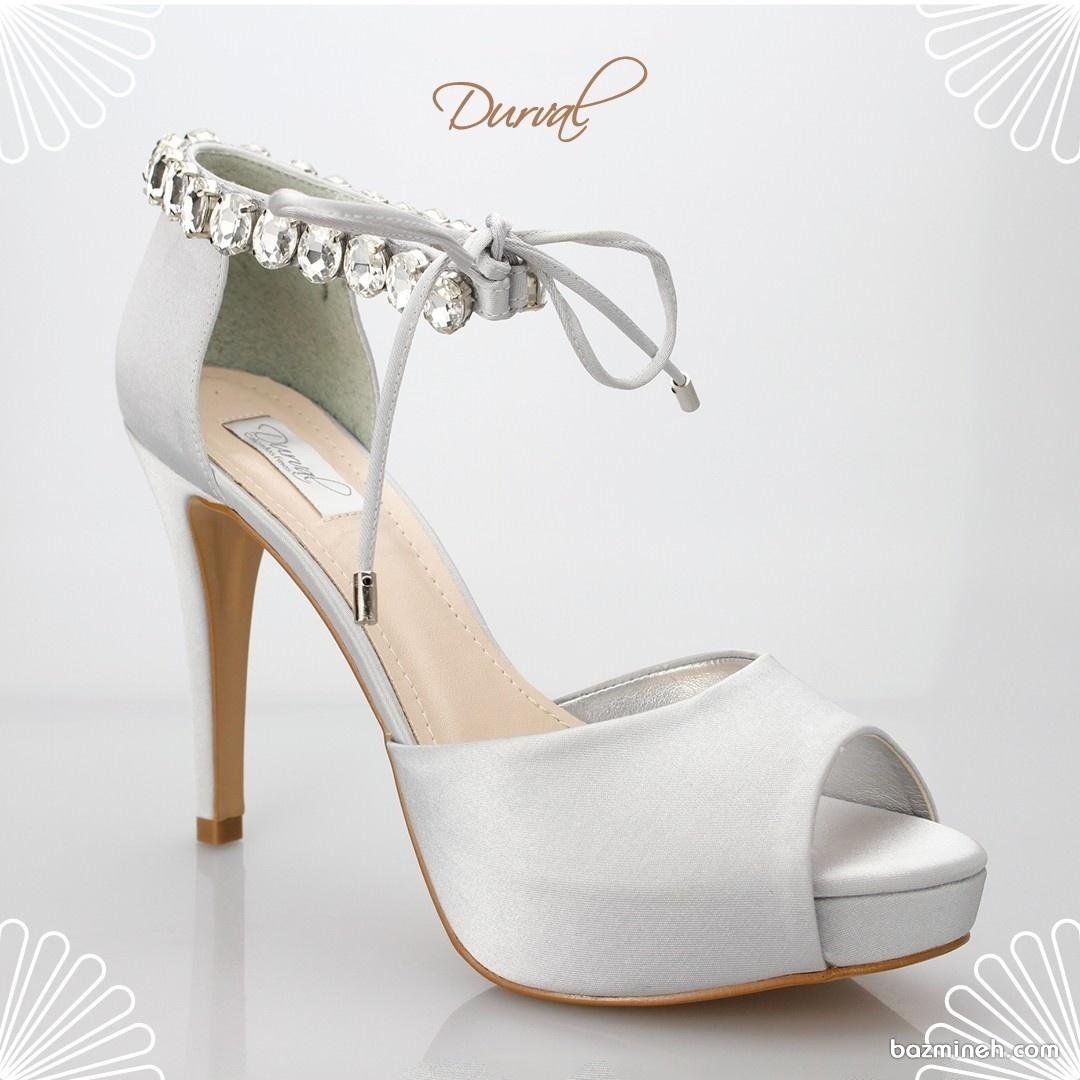 کفش پاشنه بلند سفید مناسب برای عروس خانم های باسلیقه