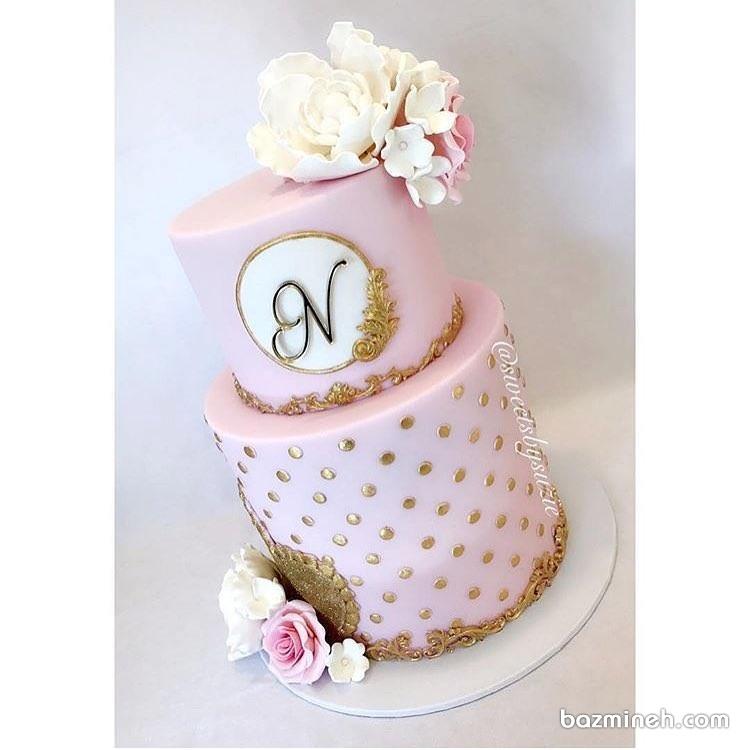 کیک زیبای جشن تولد دخترانه