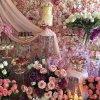 گل آرایی زیبای جشن تولد یا نامزدی