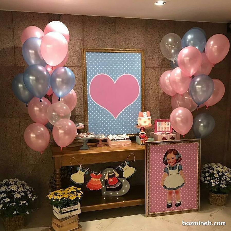 دکوراسیون جشن تولد دخترانه
