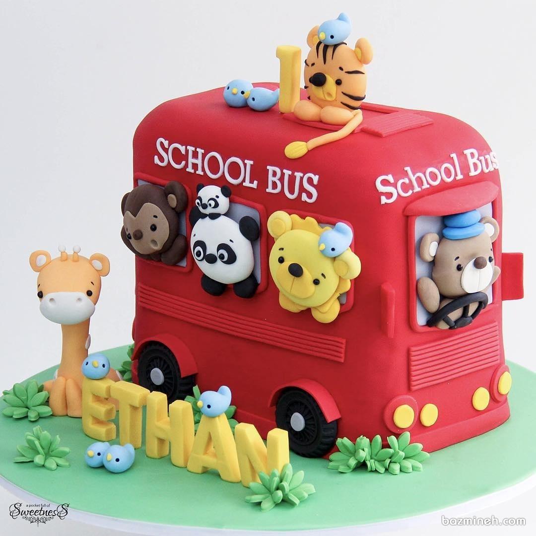 کیک فوندانت جشن تولد کودک