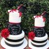 کیک شیک جشن فارغ التحصیلی