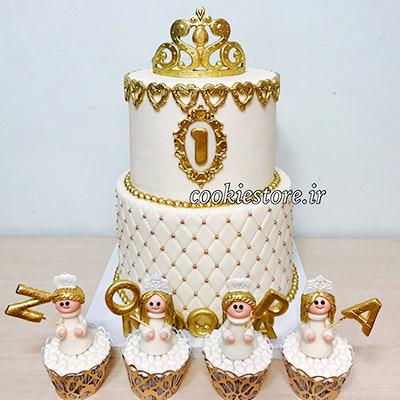 کیک کوکی استور جشن بزمینه