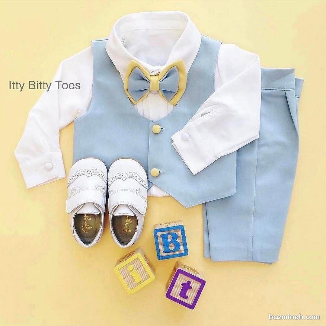 ست لباس پسرانه مناسب برای جشن تولد آقا کوچولوها