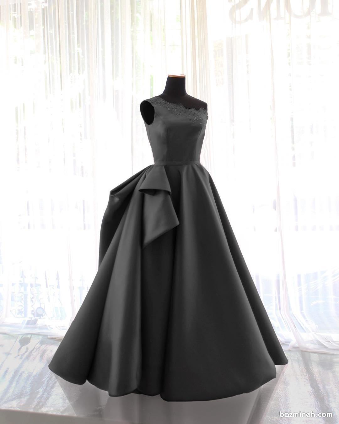 لباس مجلسی زنانه با دامن پفی مناسب برای جشن نامزدی