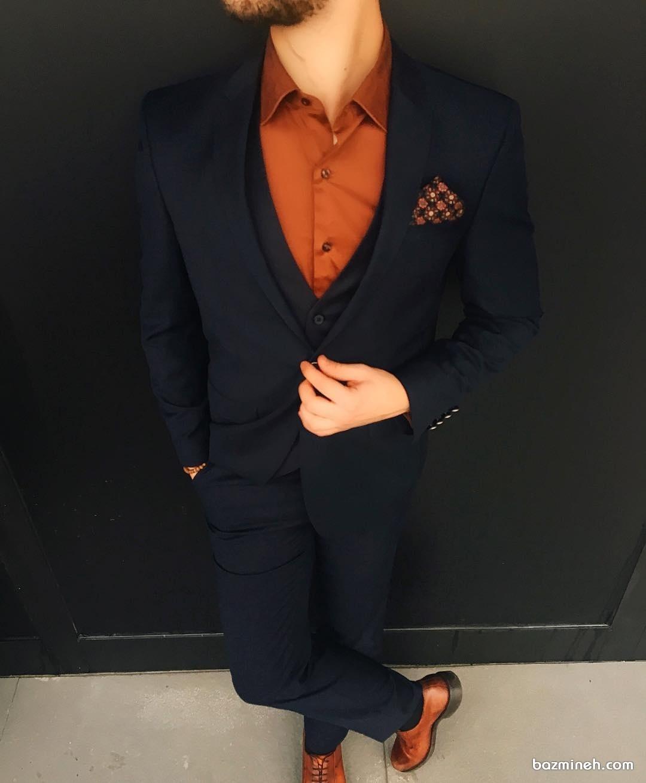ست کامل لباس داماد مناسب برای جشن نامزدی