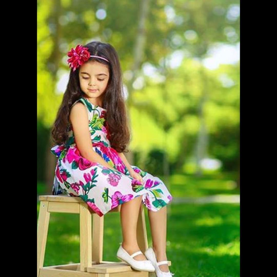 لباس کودک نقطه - بزمینه