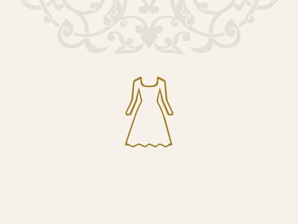 لباس مجلسی آنجل-بزمینه