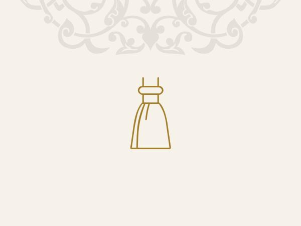 لباس مجلسی ونوس-بزمینه