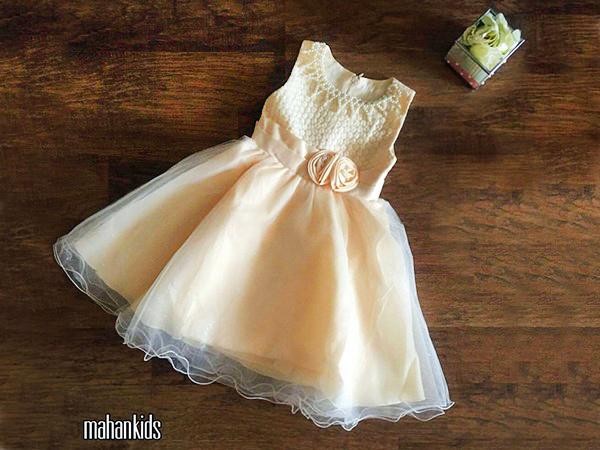لباس کودک مجلسی ماهان-بزمینه