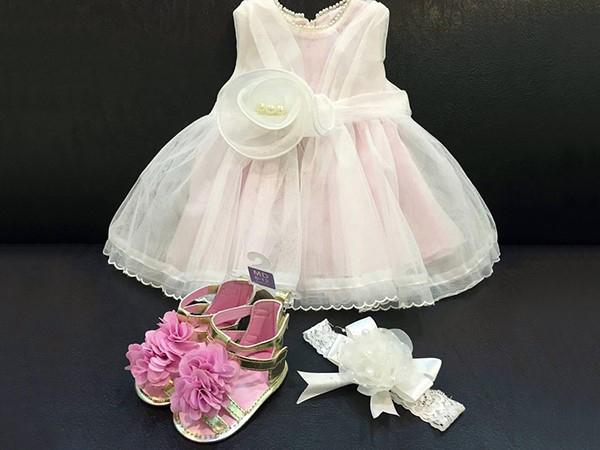 لباس جشن تولد دخترونه ناندا-بزمینه