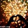جشن عروسی با شکوه و پر هیجان با آتش بازی