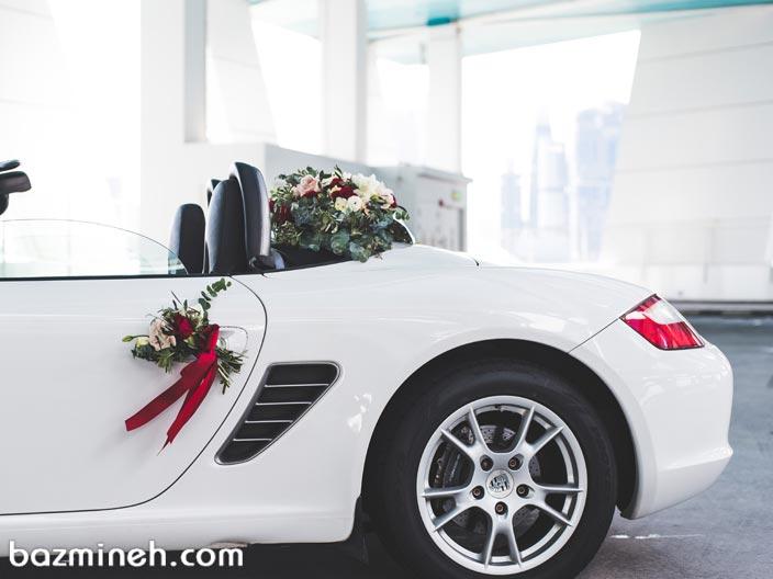 بهترین راه تزیین ماشین عروس