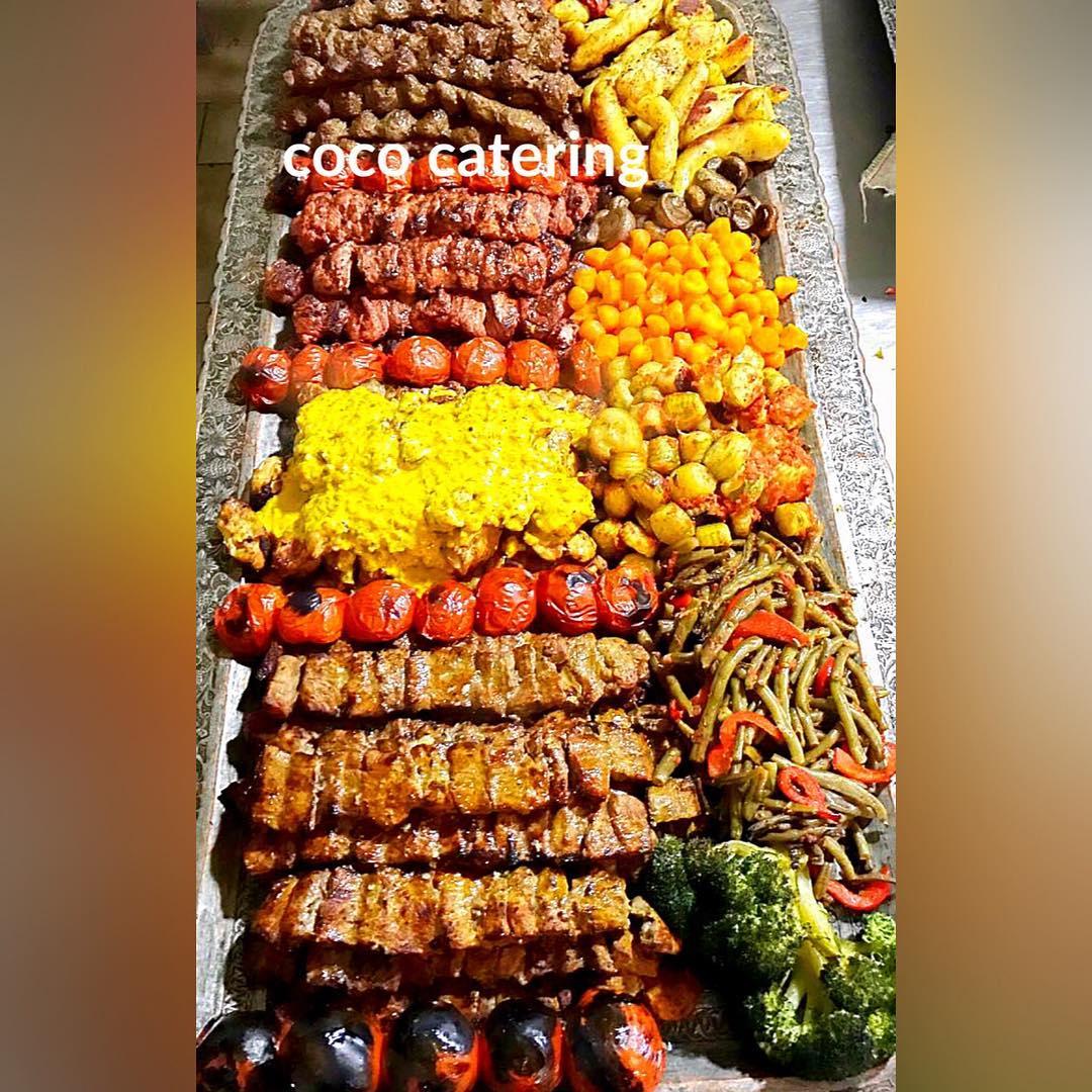 کوکو کترینگ جشن بزمینه