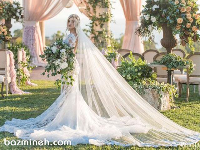 طول تور عروس باید چقدر باشد؟