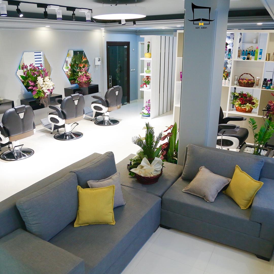 آرایشگاه تخصصی داماد سان