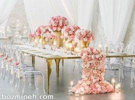 9 نکته برای گل آرایی هر چه زیباتر سالن عروسی