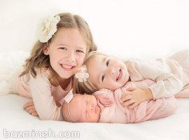 نکات مهم در عکاسی از نوزادان و کودکان