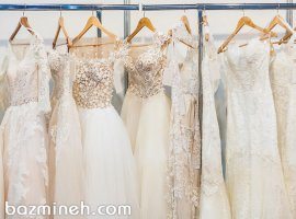 واژهنامه پارچه لباس عروس