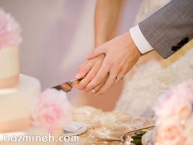 آداب رسوم کیک جشن عروسی