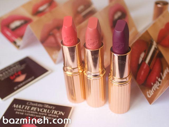 8 رنگ رژ لب زیبا برای عروسهای شیک و زیبا