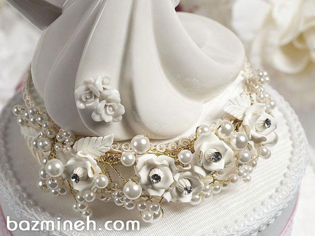 ایده هایی برای تزئین کیک با جواهرات و نگین