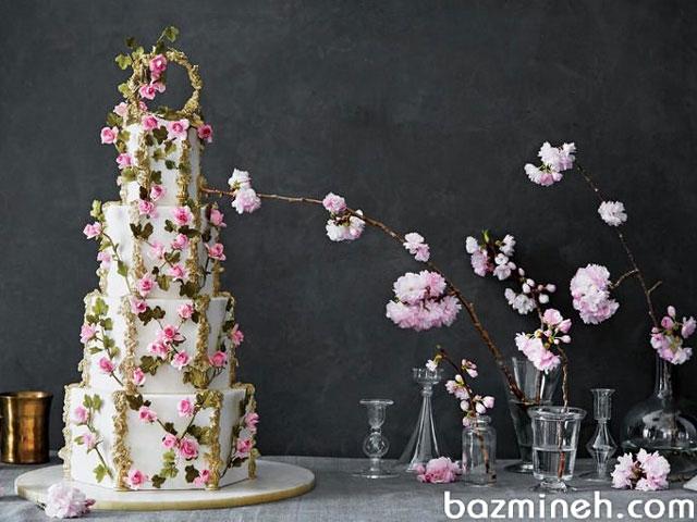 24 مدل از زیباترین مدلهای کیکهای عروسی