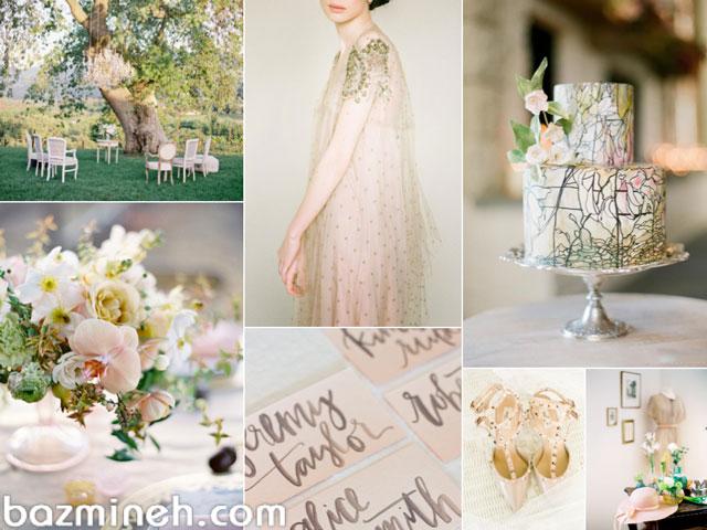 7 ترکیب رنگی بی نظیر برای عروسی در فصل بهار و تابستان