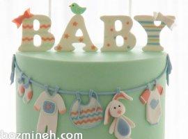 10 دیزاین کیک بانمک برای جشن بی بی شاور