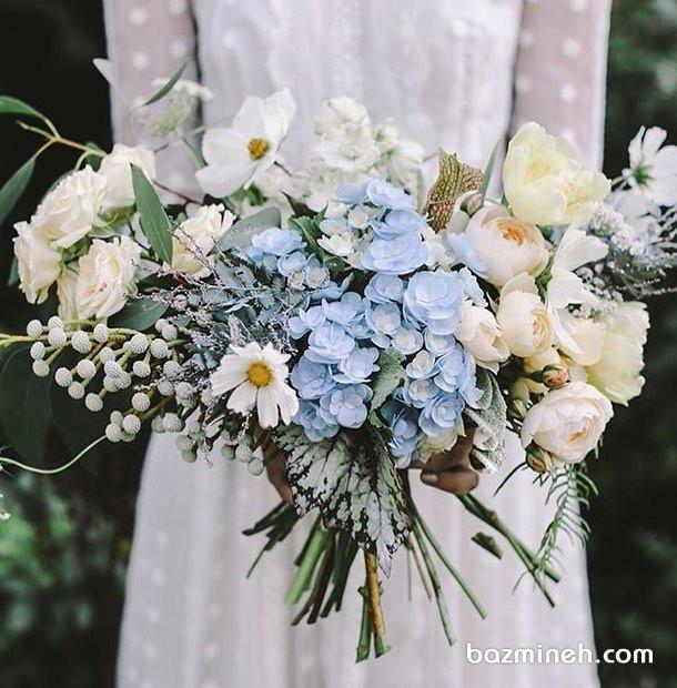 دسته گل عروس مناسب جشن فرمالیته عروس خانم ها با استایل بوهو