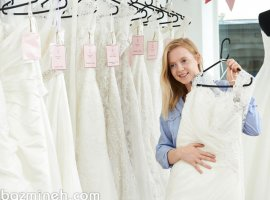 نکاتی که خیال شما را برای خرید لباس عروس راحت می کند!