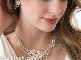 انتخاب مناسبترین سرویس طلا با در نظر گرفتن جزئیات لباس عروس