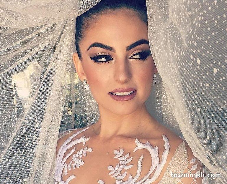 میکاپ ملایم و زیبای عروس