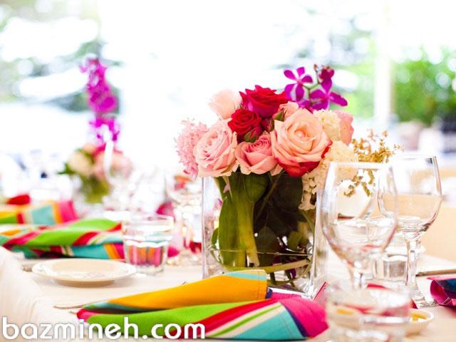 چگونه رنگهای عروسی خود را انتخاب کنید؟