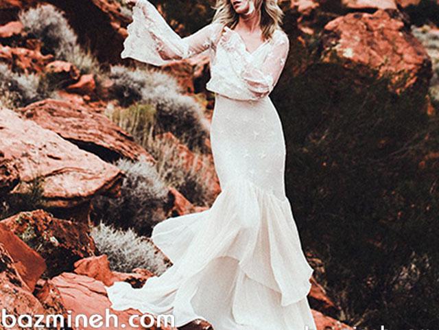 با لباس عروس به سبک استایل بوهو بیشتر آشنا شوید