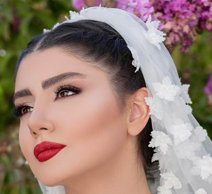 میکاپ عروس صفورا