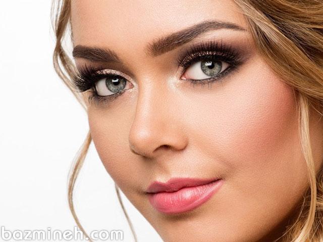 آموزش مرحله به مرحله آرایش صورت - کانتورینگ و طراحی ابرو