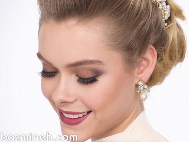 آموزش مرحله به مرحله آرایش صورت - آرایش گونه و لب