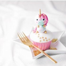کاپ کیک رویایی جشن تولد دخترونه با تم اسب تک شاخ (Unicorn)
