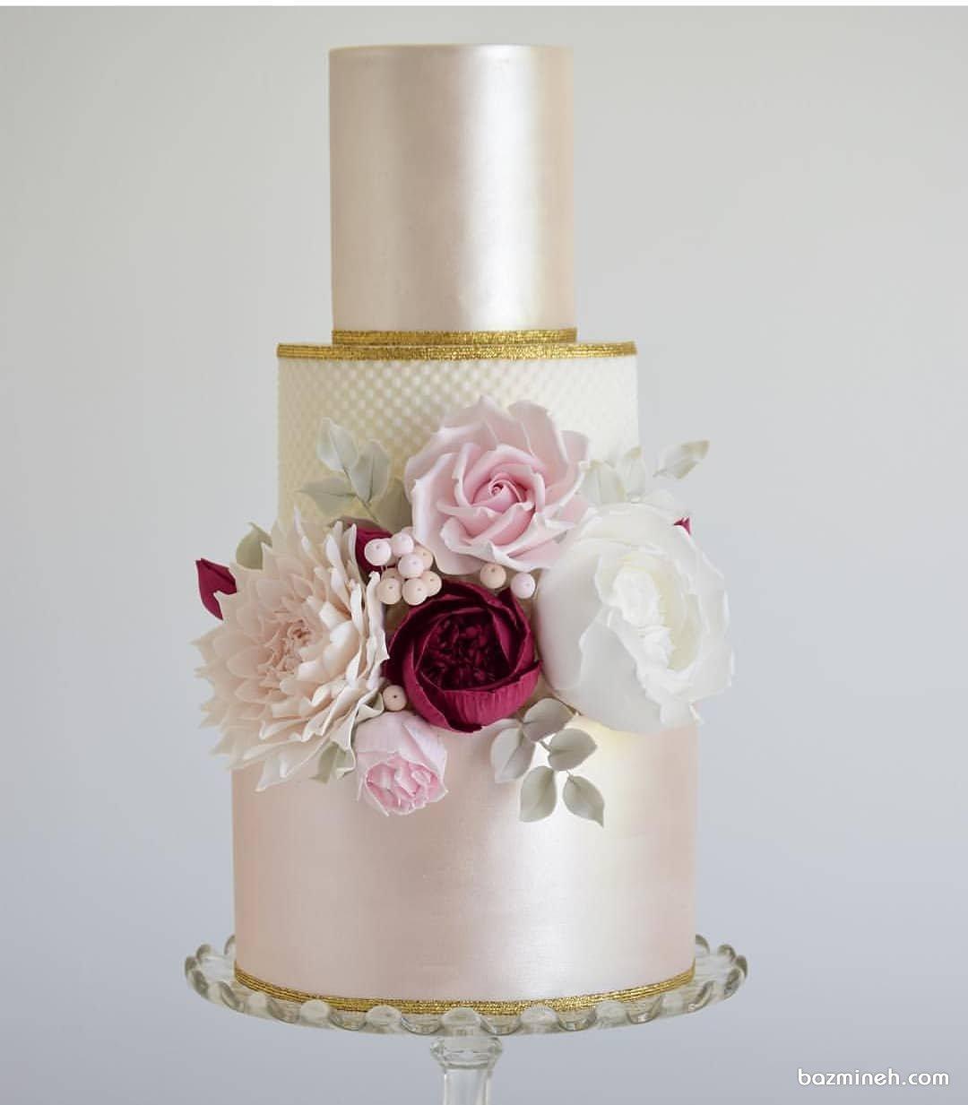 کیک رمانتیک جشن سالگرد ازدواج