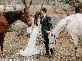 ژستهای عکاسی عروسی