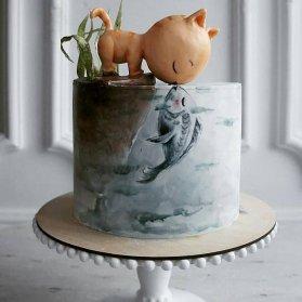 کیک عروسکی بامزه جشن تولد کودک