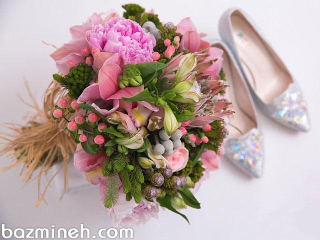 گل های محبوب دسته گل های عروسی