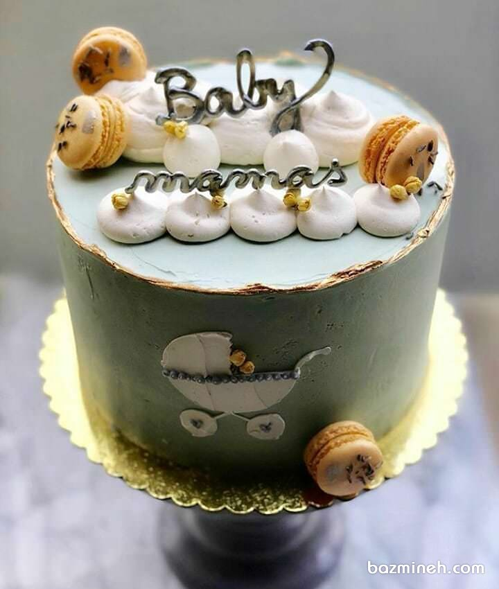 کیک زیبا و دوست داشتنی جشن بیبی شاور