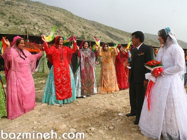 رسوم عروسی در شیراز