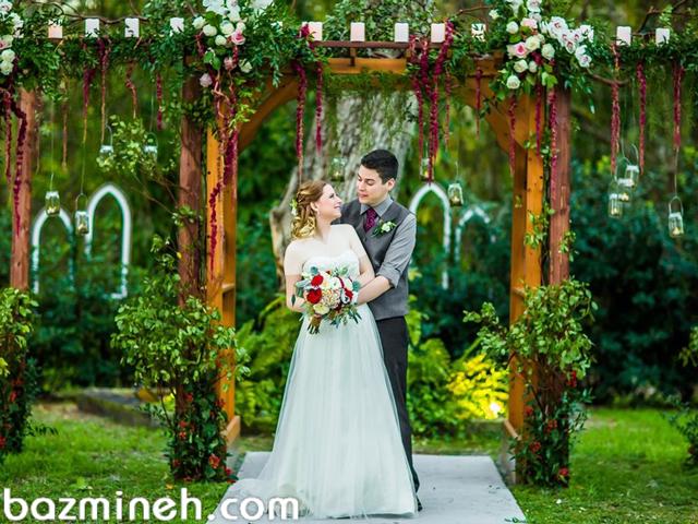 چگونه یک عروسی با استایل روستیک بگیریم؟!